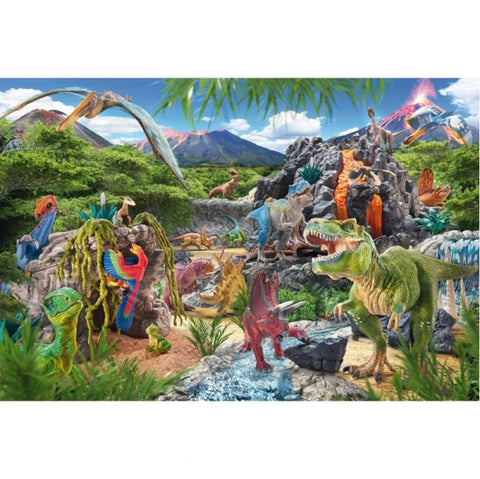 Kingdom Of the Dinosaurs Puzzle, completed picture