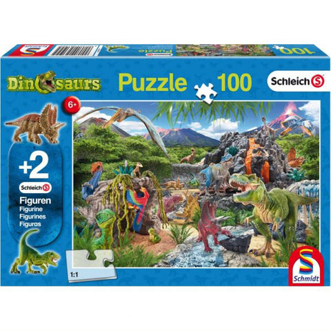 Kingdom Of the Dinosaurs Puzzle, boxed front view