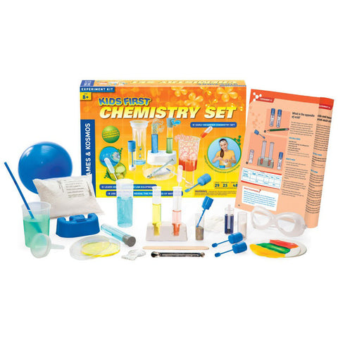 Kids First Chemistry Set contents