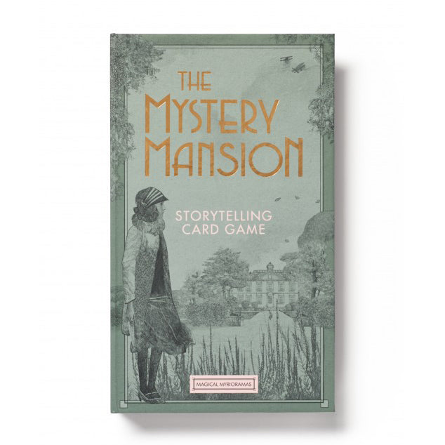 The Mystery Mansion - Storytelling Card Game, front of box