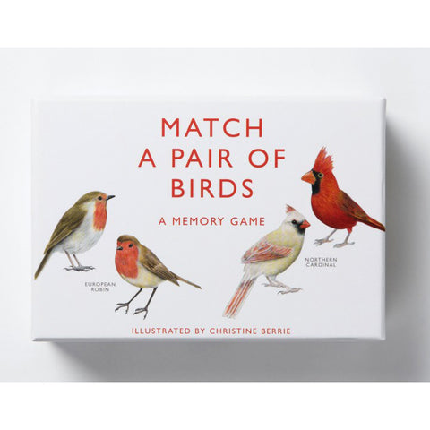 Match a pair of birds, front of box