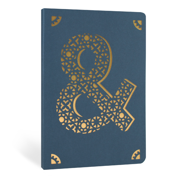 & Foil A6 Notebook, front view