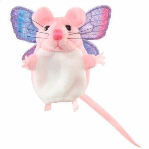 Pink Mouse Finger Puppet