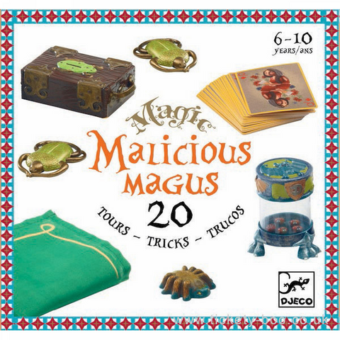 Malicious Magus - 20 Magic Tricks by Djeco, front of box