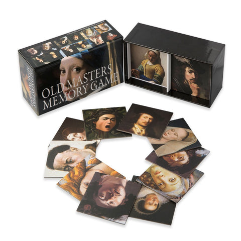 Old Masters Memory Game, cards out of box