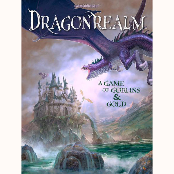 Dragonrealm - a Game of Goblins & Gold, front cover