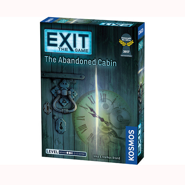 EXIT The Game - The Abandoned Cabin, boxed