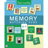 Memory Matching Game - Paul Thurlby, front of box