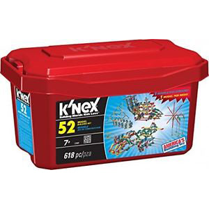 K'nex 52 Model Building Set, boxed