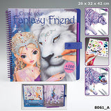 Create Your Fantasy Friend Activity Book, details of stickers