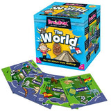 Brain Box The World with sample cards