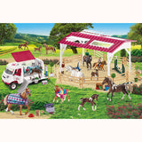 Riding School & Veterinarian Puzzle, finished scene