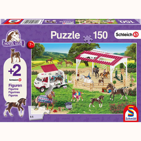 Riding School & Veterinarian Puzzle, front of box