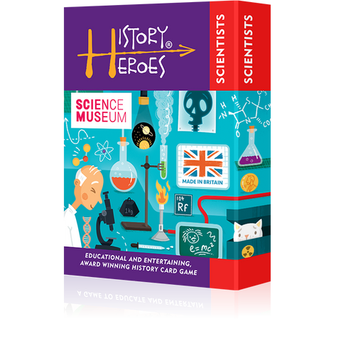 History Heroes - Scientists, boxed