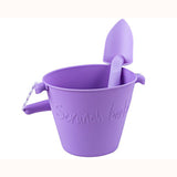 Scrunch Bucket - Purple, with purple spade