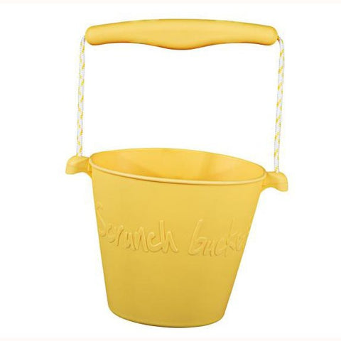 Scrunch Bucket - Buttercup Yellow