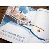 Shackleton's Journey - Activity Book, inside journal page