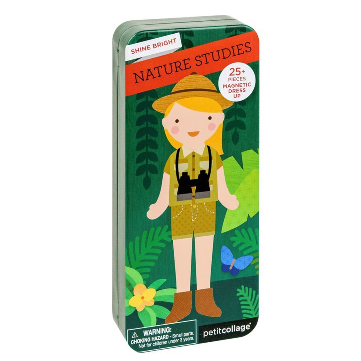Nature Studies - Magnetic Dress Up, closed tin