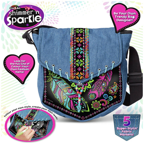 Decorate Your Own Messenger Bag, main ad
