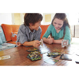 Minecraft Card Game, children playing