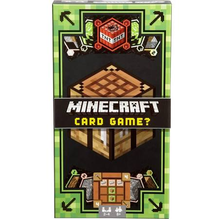 Minecraft Card Game, boxed