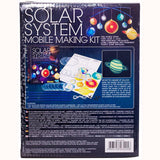 Solar System Mobile Making Kit, back of box