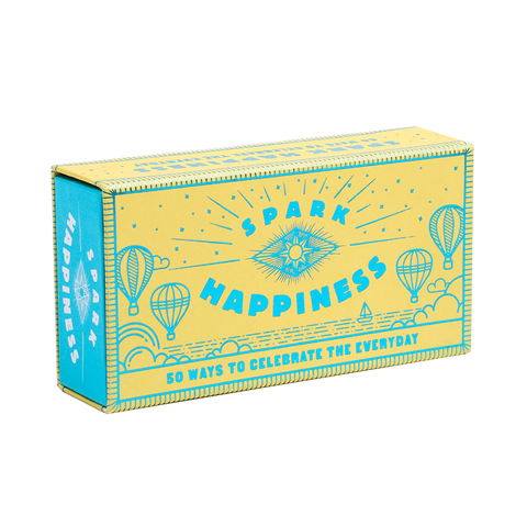 Spark happiness, box front on