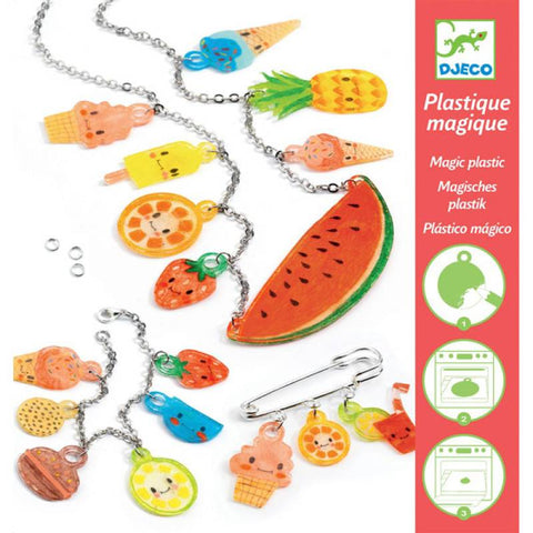 Sweet Treats - Shrinkable Jewellery Set, front of packaging