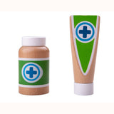 Doctor's Play Set, medicine and lotion