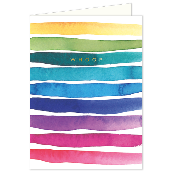 Whoop - Greeting Card, front