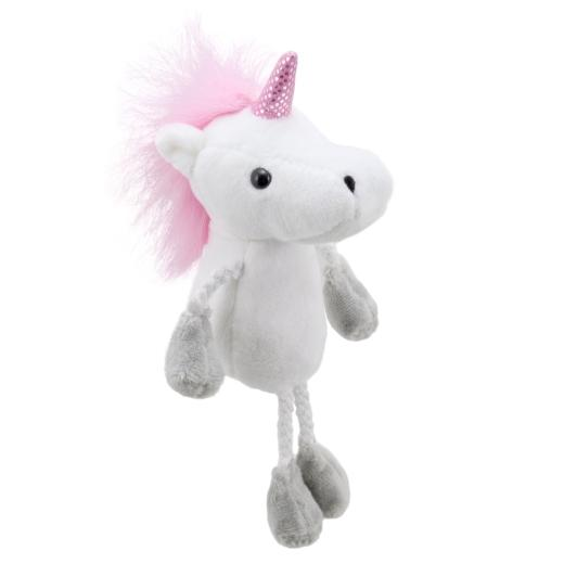 Unicorn Finger Puppet, side view
