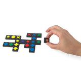 Qwirkle - Travel Size, variety of tiles in play (and size ratio to hand)