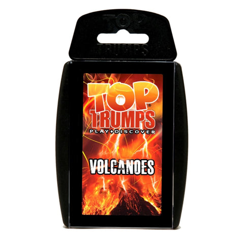 Volcanoes -Top Trumps Game, boxed