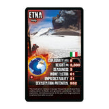 Volcanoes -Top Trumps Game, sample card Mount Etna