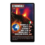 Volcanoes -Top Trumps Game, sample card Stromboli
