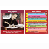 Brain Box - Shakespeare, example card, both sides