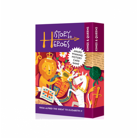 History Heroes - Kings & Queens, boxed