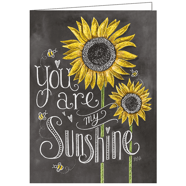 You Are My Sunshine - Valentine's Greeting Card