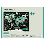 Your World Jigsaw Puzzle, back of box