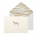 Zebra Boxed Notecards - Portico card with envelope