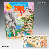 Create Your Zoo Sticker Book