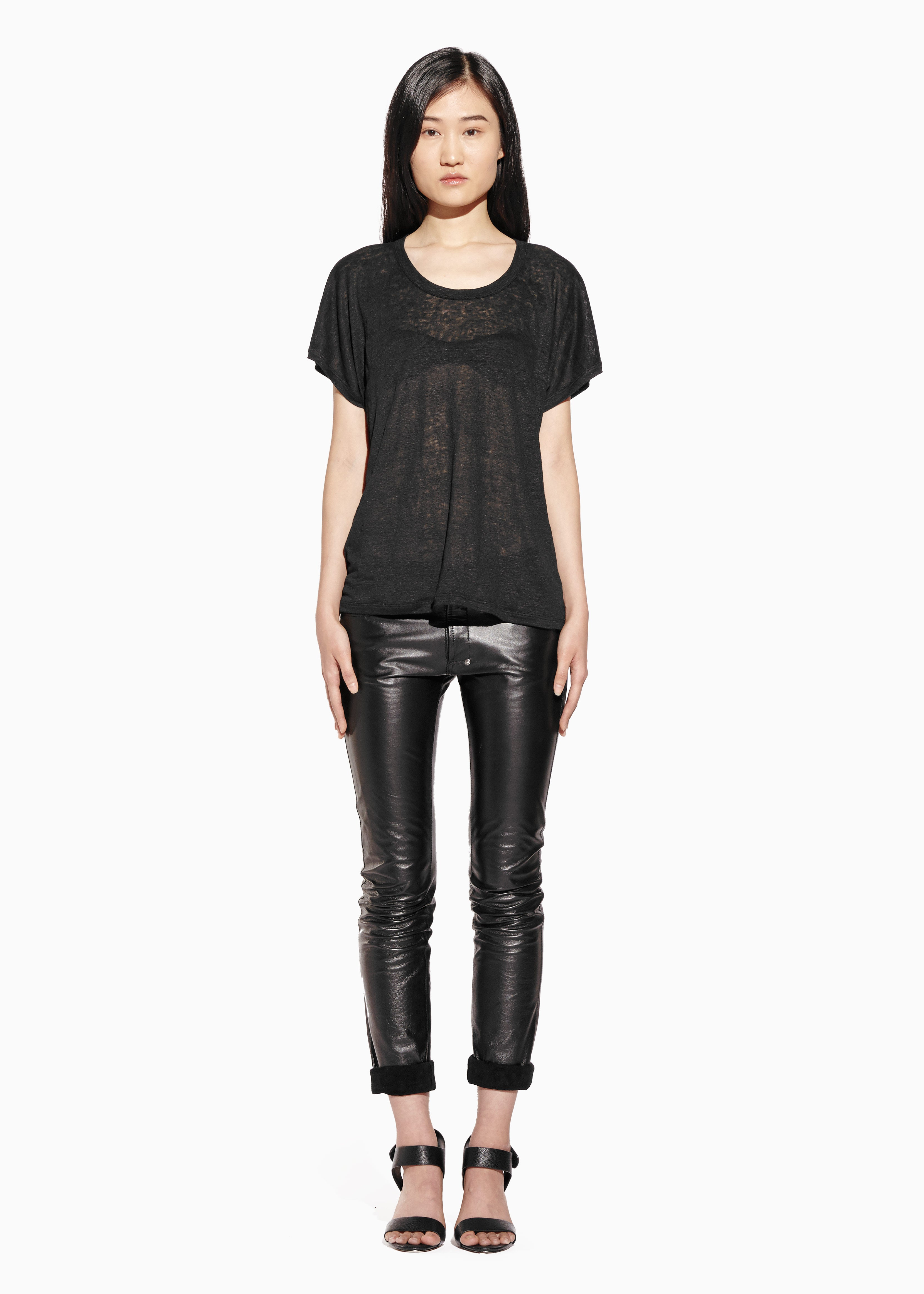FREEDOM T TOP Linen Jersey