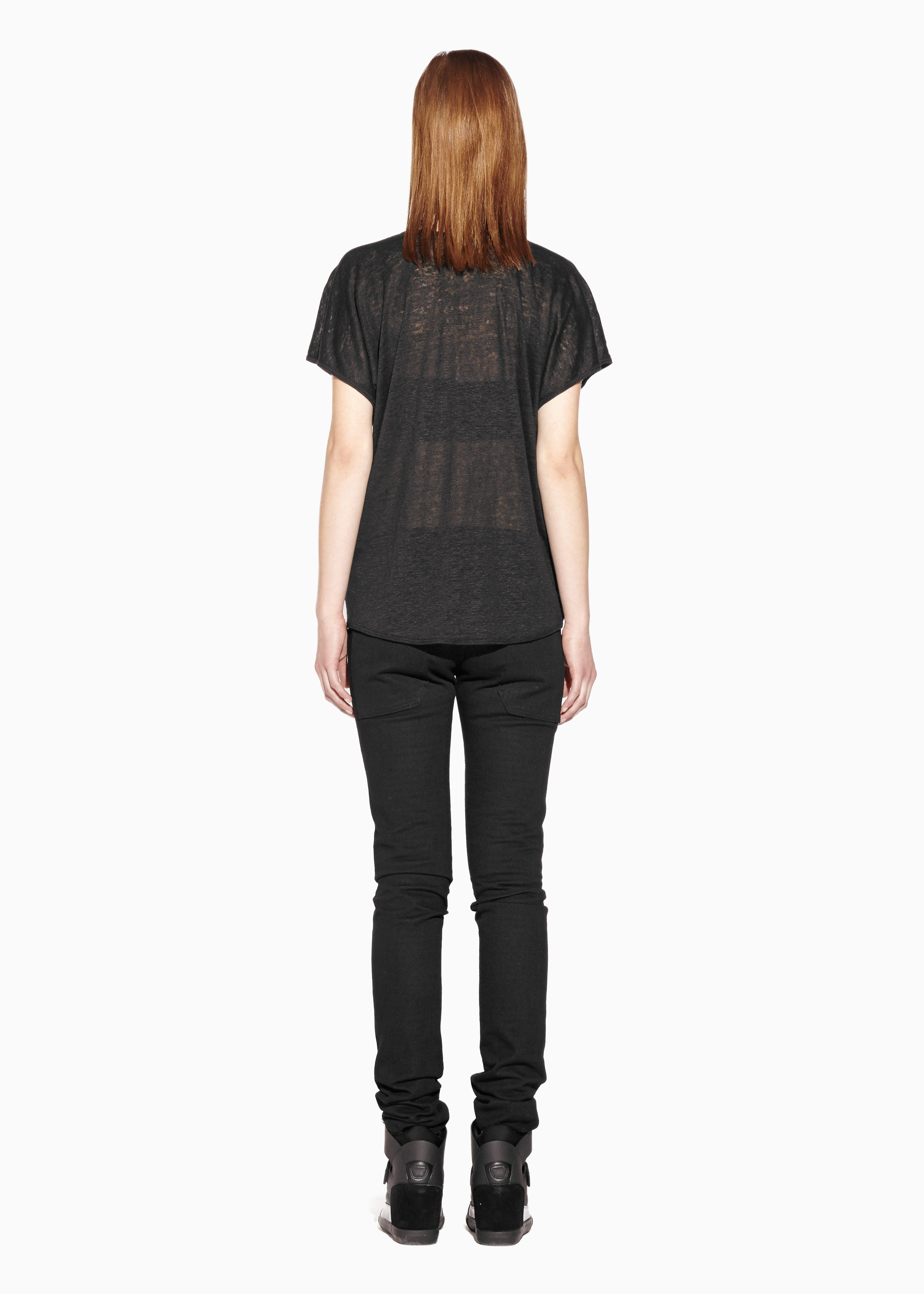 FREEDOM V TOP Linen Jersey