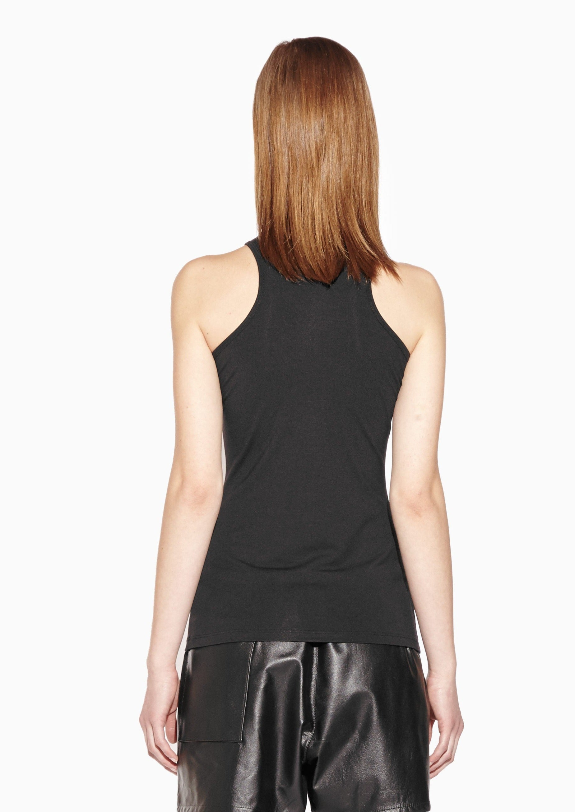 ISA High Neck Fitted Tank Top