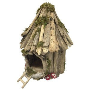 Papoose fairy house - Little Greenie