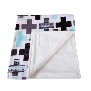 Bamboo Velour & Minky Burp Cloths - Little Greenie