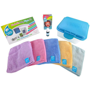 Cheeky Wipes Hands & Faces at Home Kit - Little Greenie