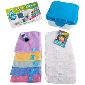 Cheeky Wipes Mini Trial Kit - Little Greenie