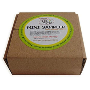 Natural Bottom Balm - CJ's BUTTer 9 Pot Sampler Pack - Little Greenie