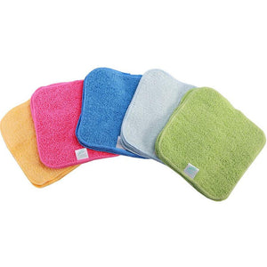 Cloth Wipes - Rainbow Cotton Terry (25 pack) - Little Greenie